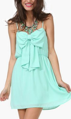 Brunch Bow Dress
