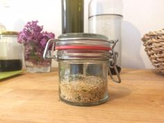 Bylinková sůl - Kosmetika hrou Korn, Mason Jars, Mason Jar, Glass Jars, Jars