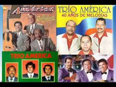 Trio America - Cuando voy por la calle - YouTube Jukebox, Baseball Cards, Youtube, Latin America, Boleros, Street, Songs, Ear, Music
