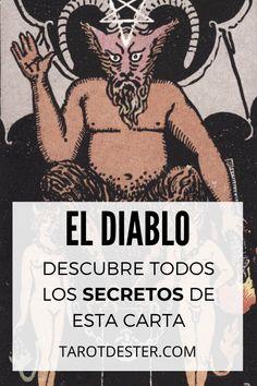 El Diablo es una de las cartas del Tarot más temidas de toda la baraja. Descubre todos los secretos y significados pulsando la imagen. Tarot Significado, Witch, Magic, Black, Tarot Cards, Tarot Spreads, Book Of Shadows, El Diablo, Witch Bottles