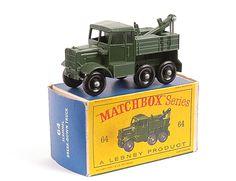 Matchbox Regular Wheels No.64a Scammell Recovery Tractor