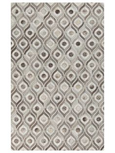 Appalachian Leather Handmade Rug by Surya at Gilt
