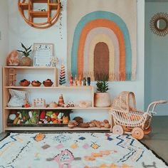 Magnificent playroom design - take a peek at our article for much more concepts! Playroom Design, Playroom Ideas, Playroom Colors, Children Playroom, Kid Playroom, Playroom Decor, Kids Wall Decor, Animal Nursery, Woodland Nursery