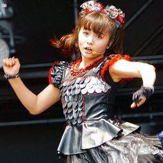 Heavy Metal Music, Heavy Metal Bands, Baby Metal, Sakura Gakuin, Moa Kikuchi, Famous Girls, We Are The Ones, Magical Girl, Dimples