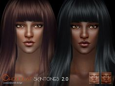 Chocalat skin 2.0 by S-Club WMLL at TSR • Sims 4 Updates
