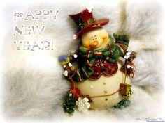 Fondo de pantalla con motivos navideños, muñeco simil nieve