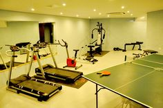Leivatho Hotel's Gym Hotel Gym, 4 Star Hotels, Front Desk, Hotel Offers, Guest Room, Wi Fi, Rooms, Range, Yoga