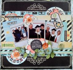 """Graduation"" August KOM ""Play In The Sunshine"" CT work Flying Unicorn - Scrapbook.com"