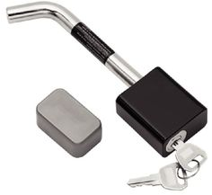 Tow Ready 63224 Class II Hitch Receiver Lock with Bent Pin 220-63224