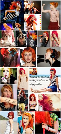 Hayley Williams - Paramore, style icon, fashion, inspiration