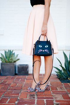 Those Kate Spade shoes! Sooo cute