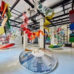 Hella Jongerius creates Colour Machine installation inside CasaVitra