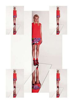 Kaleidoscopic Fashion Photography - The Something Else 2013 Collection is Graphic Prints Galore (GALLERY)