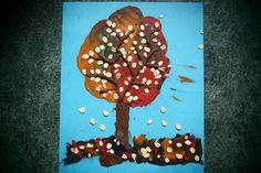 Strefa Dzieci - Jesienne drzewo z plasteliny