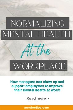 Mental Health At Work, Mental Health Facts, Mental Health Programs, Mental Health And Wellbeing, Mental Health Awareness, Stress And Anxiety, Read More, Workplace, Health Tips