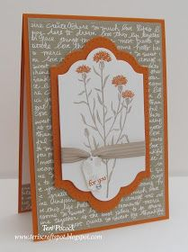 Stampin' Up! UK Demonstrator - Teri Pocock: Gorgeous - Wild About Flowers!