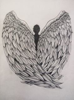 My pencil drawing of angel wings :) angel drawing, awesome art, cool art Pencil Drawings Of Nature, Pencil Drawings Of Girls, Wings Drawing, Angel Drawing, Marilyn Monroe Stencil, Cool Art, Awesome Art, Girl Face Drawing, Collage Techniques