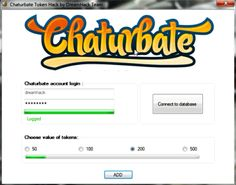 chaturbate tokens hack 2017