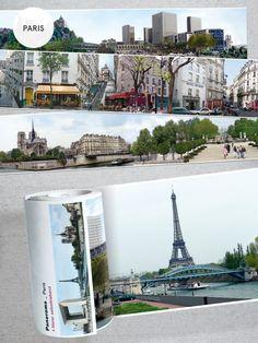 #Paris #Panorama #Borte  Eine Panoramaaufnahme die jeden Raum verschönert!