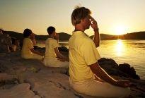 "The System ""Yoga in Daily Life"" Zen Yoga, Namaste Yoga, Yoga Meditation, Qi Gong, Yoga Session, Yoga Poses, Respiration Yoga, Ayurveda Yoga, Relaxing Yoga"