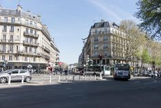 District of Paris, close to La Cigale Concert Hall, Veeve - Balcony Over The Tree-Lined Boulevard features free WiFi and a washing. Bath Or Shower, Tree Line, Concert Hall, Paris France, Balcony, Microwave, Dishwasher, Opera, Beautiful Places