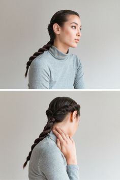 Learn to do this: https://intothegloss.com/2016/01/easy-braids/?utm_source=pinterest&utm_medium=pin