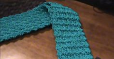 Using just a single crochet and two double crochets, you can learn to make this Riddle Stitch scarf! Crochet Scarf Easy, Tunisian Crochet, Love Crochet, Learn To Crochet, Crochet Scarves, Crochet Shawl, Crochet Flowers, Crochet Stitches, Single Crochet