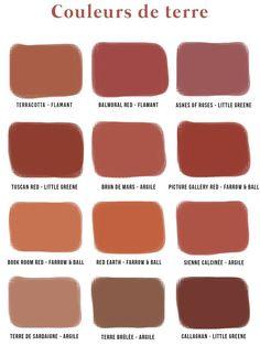 Terracotta color, do we like it or not? - Soo Deco - Terracotta color, do we like it or not? Room Colors, Wall Colors, House Colors, Colours, Paint Colors, Colour Pallete, Colour Schemes, Color Terracota, Terracotta Paint Color