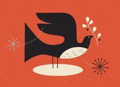 Christmas Bird by Tracy Walker