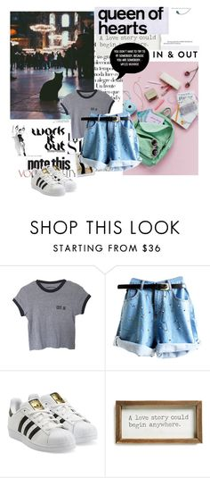 """""""Untitled #166"""" by soniadomi ❤ liked on Polyvore featuring adidas Originals, Arco and Face to Face"""