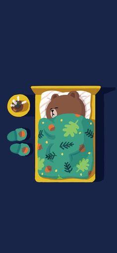 Wallpaper Wa, Cute Panda Wallpaper, Brown Wallpaper, Graphic Wallpaper, Disney Wallpaper, Cute Cartoon Images, Cute Love Cartoons, Panda Wallpapers, Cute Cartoon Wallpapers