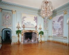 Grand Ball room in Filoli House built in 1917