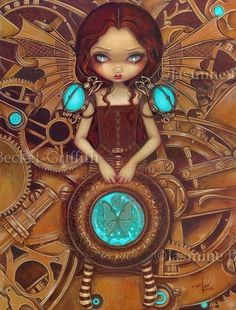 FAIRY ART PRINT The Three Fates by Jasmine Becket-Griffith 11x14 Gothic Poster