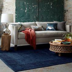Dunham Down-Filled Sofa - Box Cushion | west elm