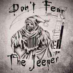 The jeeper.  #Jeep #Jeeplife #BecauseJeep ~~~~~~~~~~~~~~~~~~~~~~ Jeepreaper.com is forsale. PM with offers.
