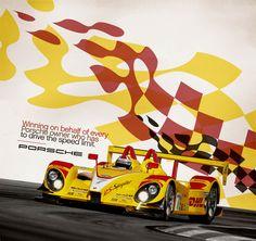 porsche racing posters - luke partridge