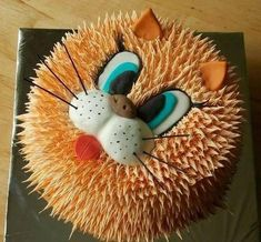 1000+ ideas about Cat Birthday Cakes on Pinterest  Cat Cakes, Cat ...