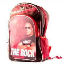The Rock backpack at WWE Shop for back to school.