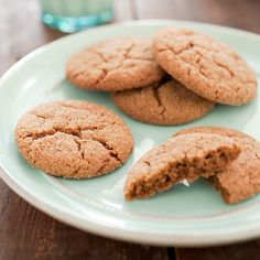 We wanted to put the snap back into gingersnaps, creating a cookie that not only breaks cleanly in half but also packs assertive ginger flavor.