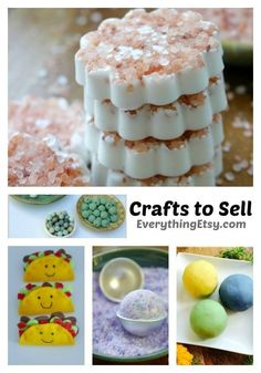 5 Awesome Crafts to Sell 5 Awesome Crafts to Sell - All the details and resources on EverythingEtsy. Diy Projects To Sell, Craft Projects For Kids, Craft Tutorials, Diy Crafts To Sell, Selling Crafts, Craft Ideas, Winter Crafts For Kids, Easy Crafts For Kids, Handmade Gifts For Her