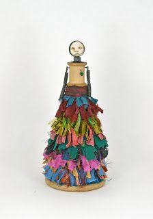 Carla Trujillo - Mixed Media Artist: Mixed Media Art Doll Tulla