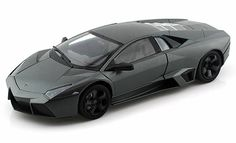 "- 1:18 Scale Diecast Model Car - This Lamborghini Reventon is a 9.75""Lx 4.25""Wx 2.25""H diecast metal car - Opening doors, hood & trunk. Sits on a display plaque - Manufactured by Motormax. Window Box."