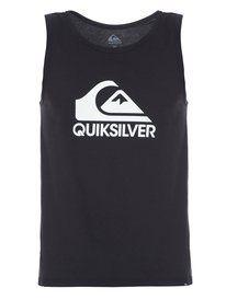Foto e-commerce para Quiksilver - Regata masculina Institucional, PRETO * (prt)