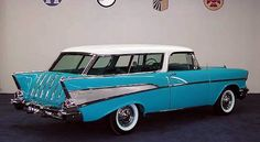 1957 Chevrolet Nomad - Just like my Mom's when I was a kid...John Hill