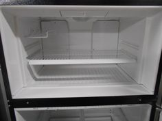 Appliance City - AMANA 21 CUBIC FOOT REFRIGERATOR TOP FREEZER  ICE MAKER READY ADJUSTABLE GLASS SHELVES 2 CRISPER DRAWERS DELI DRAWER SLIDE OUT WIRE RACK SELF DEFROST UP FRONT CONTROLS  BLACK CABINET WITH STAINLESS STEEL DOORS , $499.00 (http://www.appliancecity.info/amana-21-cubic-foot-refrigerator-top-freezer-ice-maker-ready-adjustable-glass-shelves-2-crisper-drawers-deli-drawer-slide-out-wire-rack-self-defrost-up-front-controls-black-cabinet-with-stainless-steel-doors/)
