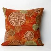 Found it at AllModern - Graffiti Swirl Square Indoor/Outdoor Pillow in Warm