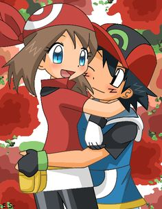 Fan Art of Ash and May for fans of Ash and May 20385485 Ash Pokemon, Pokemon Fan, Ash And May, Ashes Love, Just Video, Ash Ketchum, Pokemon Images, My Childhood, Video Game