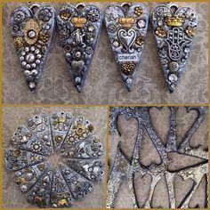 Laurie Mika using Nunn Design Grande Heart Pendant.