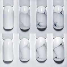 """Awesome """"top nail art designs info is offered on our web pages. Have a look and you wont be sorry you did. Toe Nail Art, Toe Nails, Acrylic Nails, Marble Nails Tutorial, Gel Nail Art Designs, School Nails, Marble Nail Art, Pretty Nail Art, Fabulous Nails"""