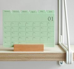 """""""Get set for the new term. Free shipping today on our index calendar, anywhere! (link in profile)"""""""